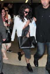 Selena Gomez at LAX Airport, April 2015