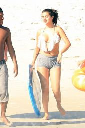Selena Gomez Bikini Pics - Beach in Mexico, April 2015