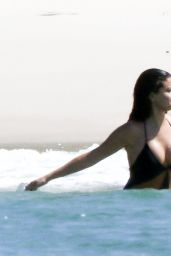 Selena Gomez Hot in Swimsuit at a Beach in Mexico, April 2015