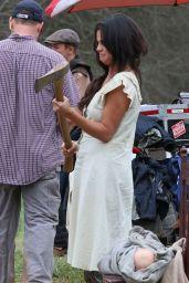 Selena Gomez - On Set of Dubious Battle in Atlanta - March 2015