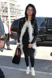 Selena Gomez Style - LAX Airport, April 2015