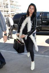 Selena Gomez Style - LAX Airport, April 2015