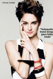 Shailene Woodley - JOY Magazine (Indonesia) March 2015 Issue