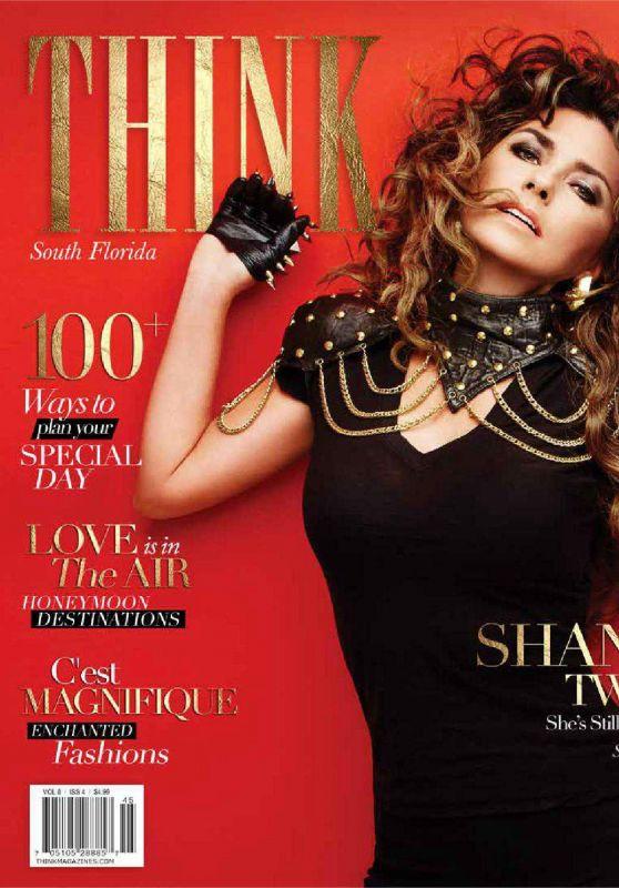Shania Twain - THINK Magazine April 2015 Issue