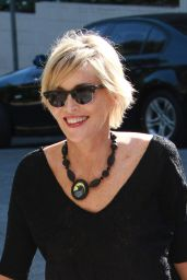Sharon Stone - Arrives at the Sunset Marquis Hotel in Hollywood - April 2015