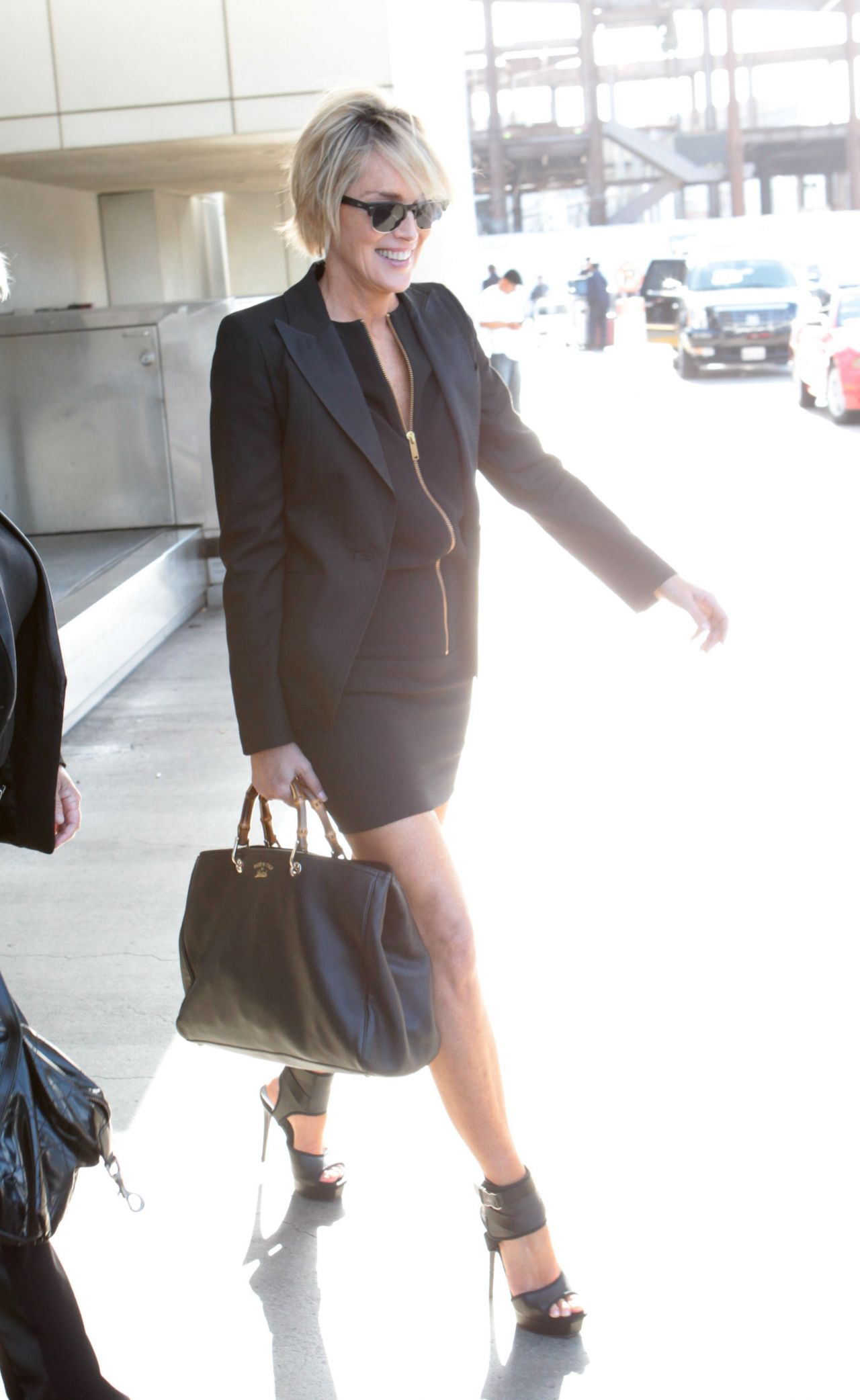 Sharon Stone at LAx Ai... Nicole Scherzinger Facebook