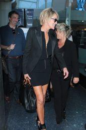 Sharon Stone at LAx Airport, April 2015