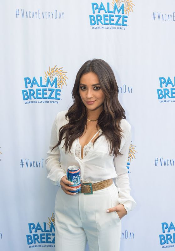 Shay Mitchell – Palm Breeze Launch in Santa Monica, April 2015