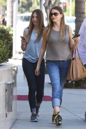 Sofia Vergara - Out in Beverly Hills, April 2015