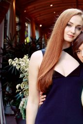 Sophie Turner and Maisie Williams - The New York Times Photoshoot, March 2015