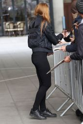 Sophie Turner Arriving to The Radio 1 Breakfast Show in London - April 2015