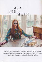 Sophie Turner - Instyle Magazine (UK) April 2015 Issue