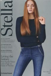 Sophie Turner - Stella Magazine April 12th 2015 Issue