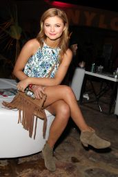 Stefanie Scott - NYLON Midnight Garden Party in Bermuda Dunes