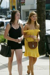Stefanie Scott Street Style - at the Farmers Market in Hollywood - April 2015