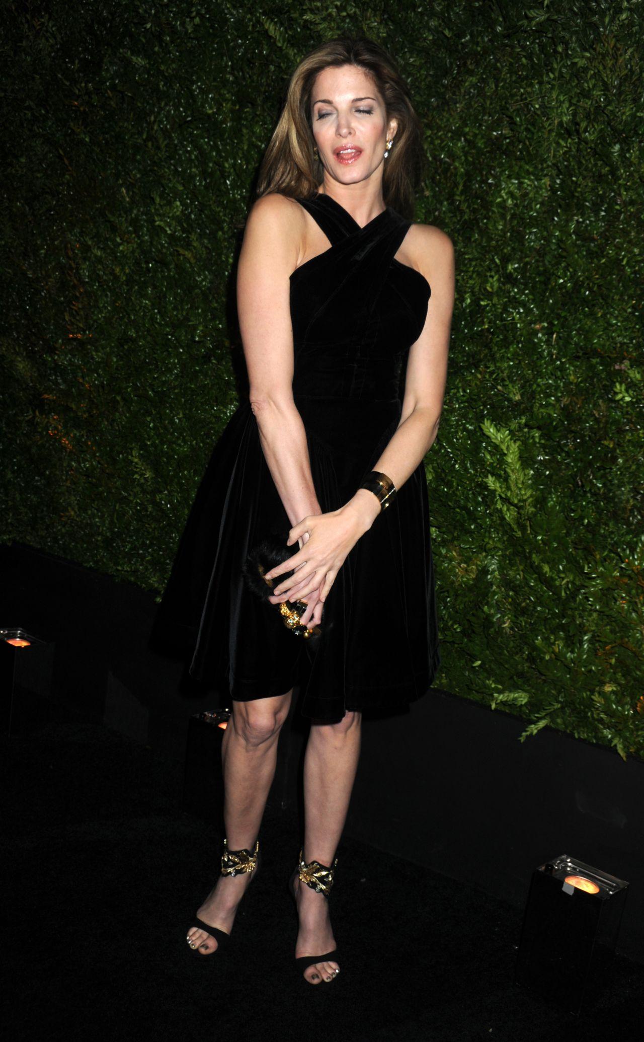 Stephanie Seymour Chanel Dinner At 2015 Tribeca Film