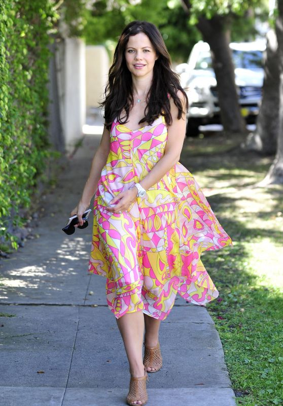 Tammin Sursok Street Style - Out in LA, April 2015