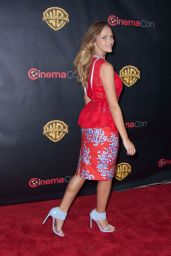 Teresa Palmer- Warner Bros Presentation at Cinemacon in Vegas, April 2015