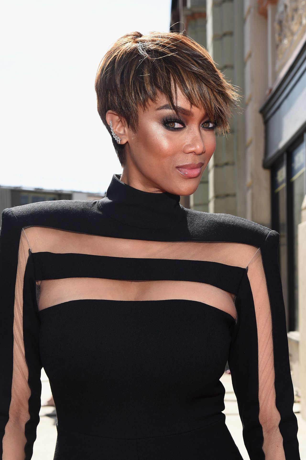 Tyra Banks 2015 Daytime Emmy Awards At Warner Bros