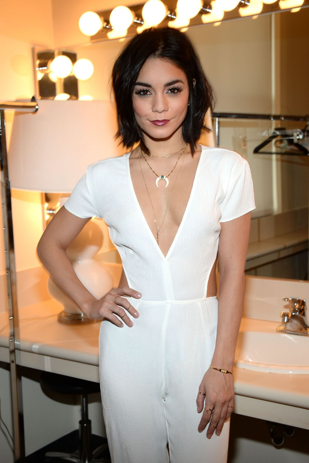 Vanessa Hudgens at 'The View' in New York City, April 2015