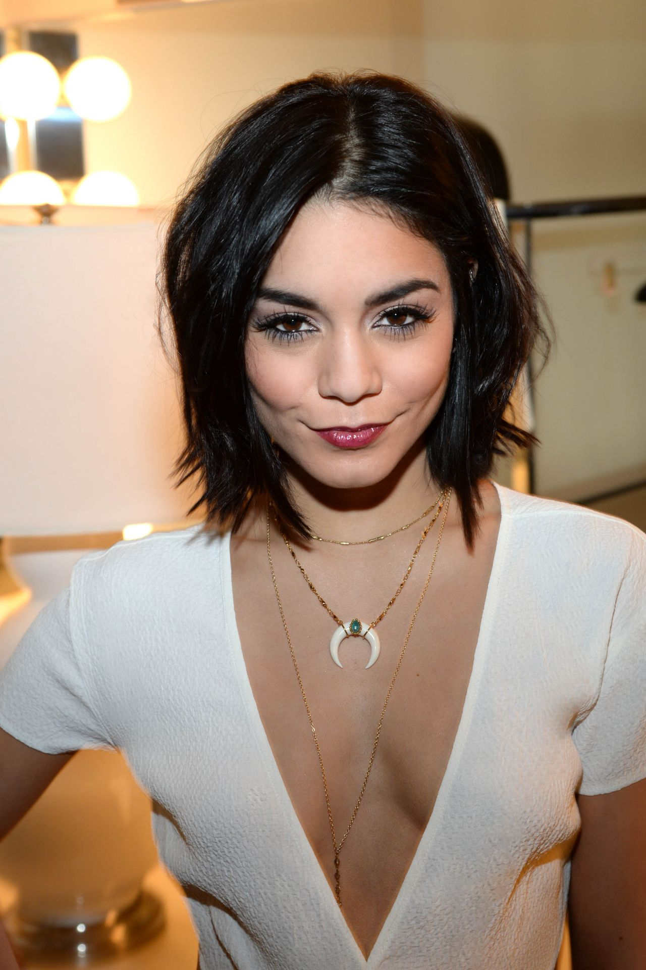 Vanessa Hudgens At The View In New York City April 2015