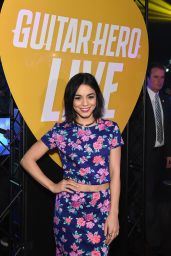 Vanessa Hudgens - Guitar Hero Live launch by Activision at Best Buy Theater in New York - April 2015