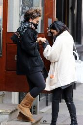 Vanessa Hudgens - Out in New York City, April 2015
