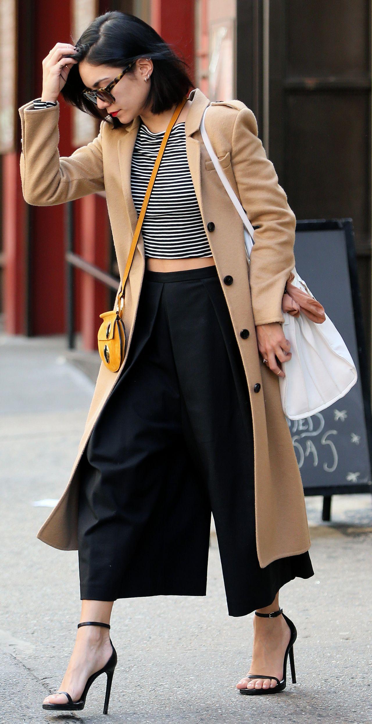 Vanessa Hudgens Spring Style - Leaving Her Apartment in Soho, April 2015