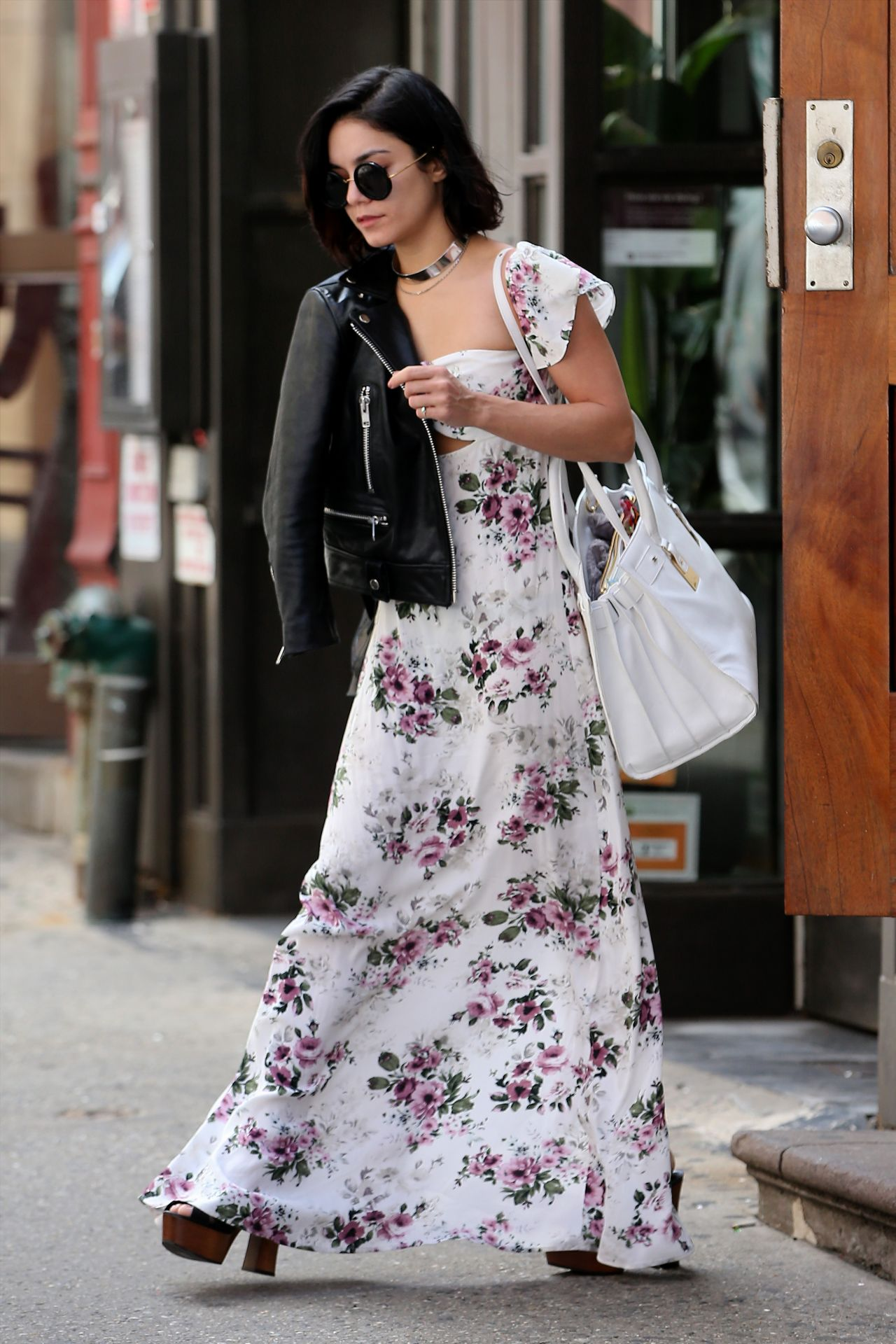 Vanessa Hudgens Street Fashion – Out in Soho, New York City, April ...