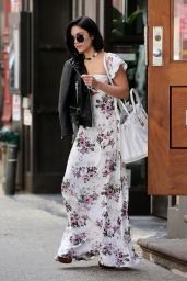 Vanessa Hudgens Street Fashion - Out in Soho, New York City, April 2015