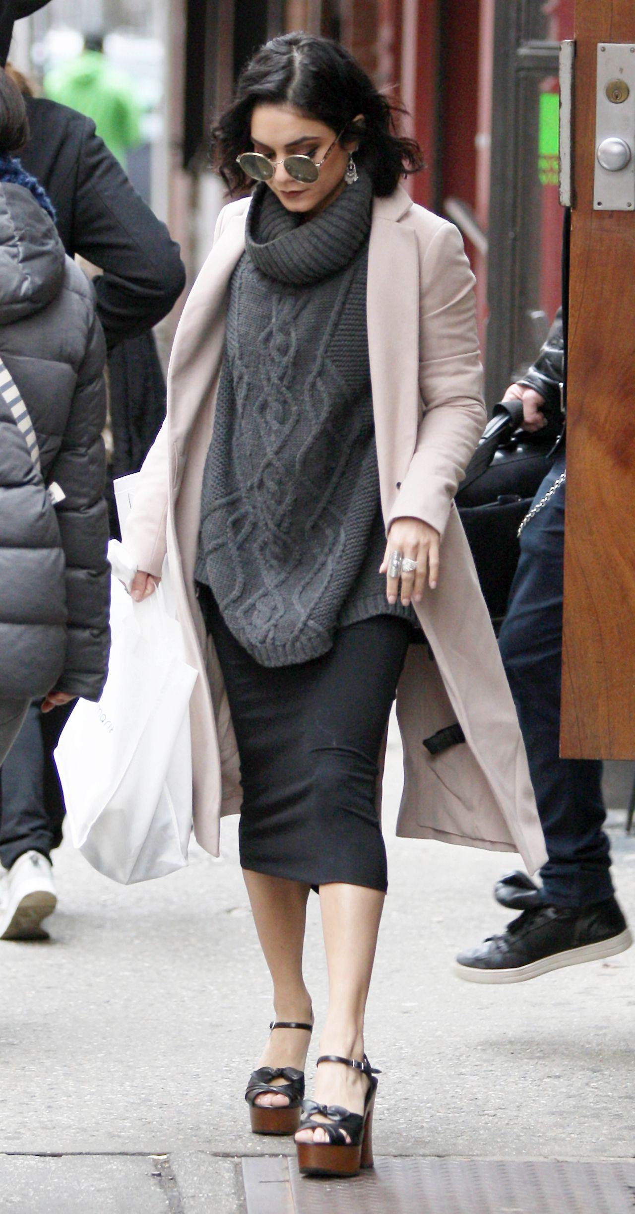 Vanessa Hudgens Style Leaving Her Hotel In New York City April 2015