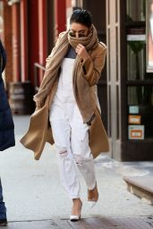 Vanessa Hudgens Style - Out in NYC, April 2015