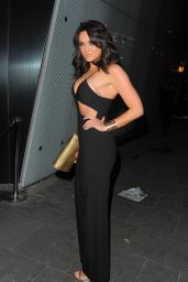 Vicky Pattison Night Out Style - London, April 2015
