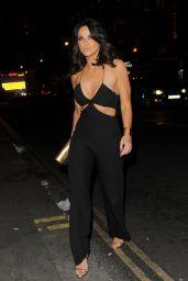 Vicky Pattison Night Out Style - London, April 2015