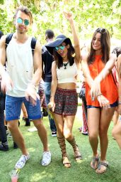 Victoria Justice – 2015 Coachella Music Festival, Day 2, Empire Polo Grounds, Indio