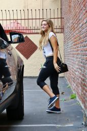 Willow Shields - DWTS Rehearsal Studio in Hollywood, April 2015