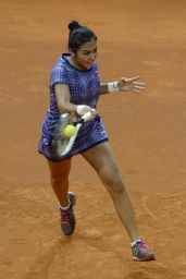 Zarina Diyas - 2015 Porsche Tennis Grand Prix in Stuttgart – Day 3