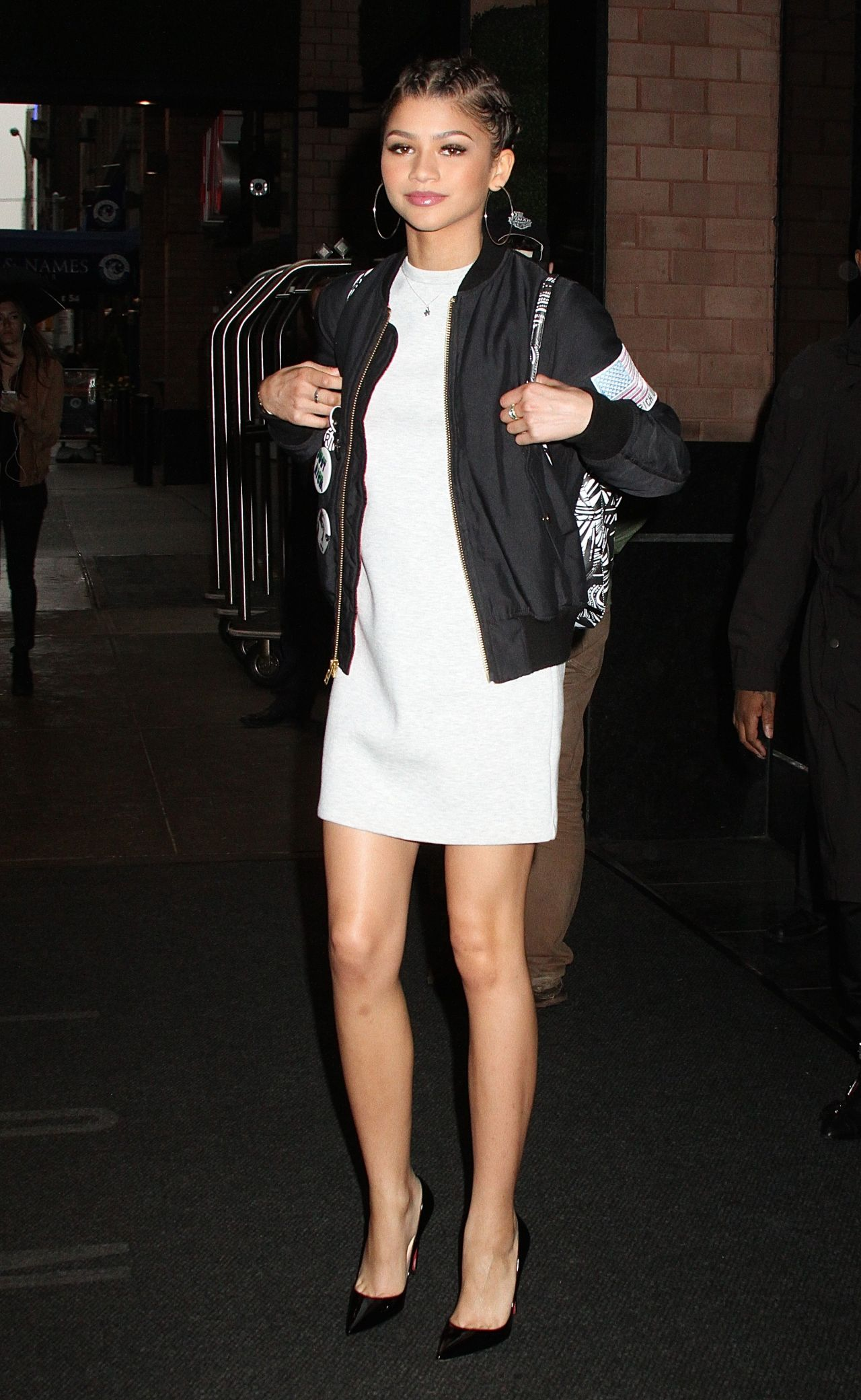 Zendaya Coleman - Leaving Her Hotel in New York City, April 2015