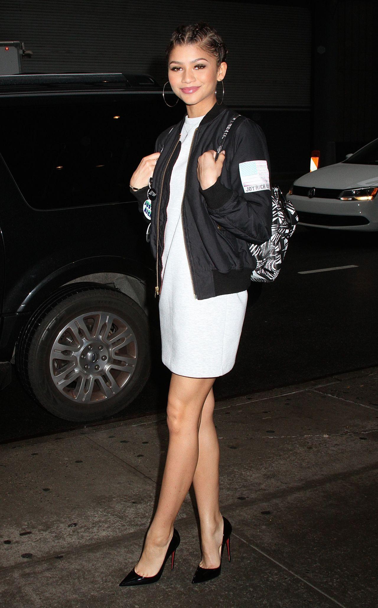 Zendaya Coleman Leaving Her Hotel In New York City