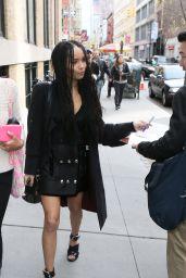 Zoë Kravitz - Out in New York City, April 2015