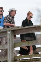 Zoey Deutch - Dirty Grandpa Set Photos, April 2015