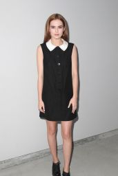 Zoey Deutch - Wolk Morias Resort Pre-Fall Collection Fashion Show in Los Angeles, April 2015