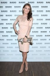 Agnieszka Radwanska - RADO Swiss Watches Press Conference, April 2015