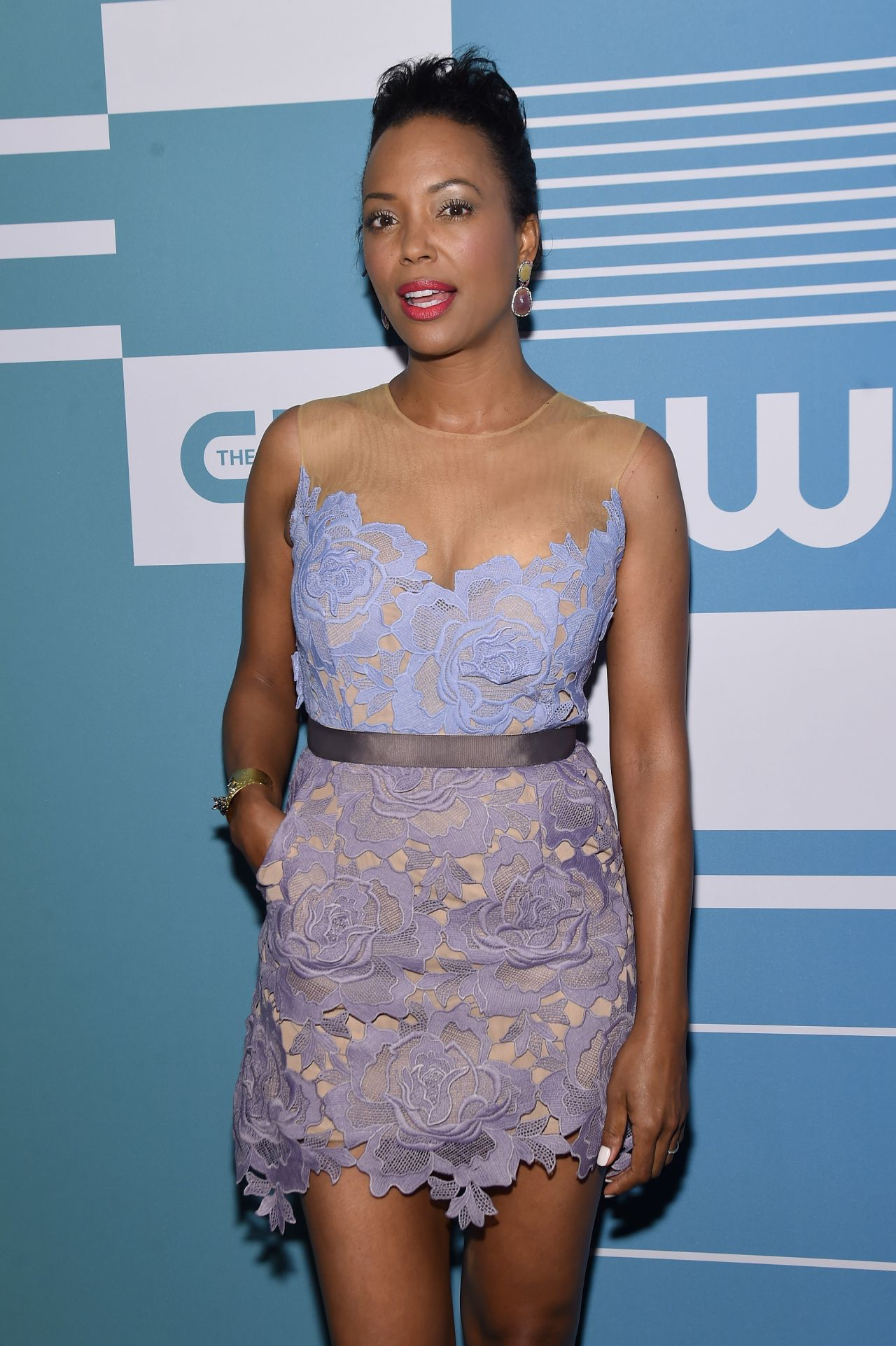 Aisha Tyler Cw Network S New York 2015 Upfront Presentation