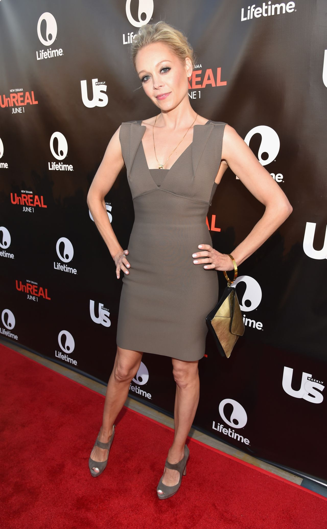 Alexandra Holden Premiere Party For Unreal At Sixty In