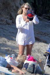 Ali Larter at a Beach in Malibu, May 2015