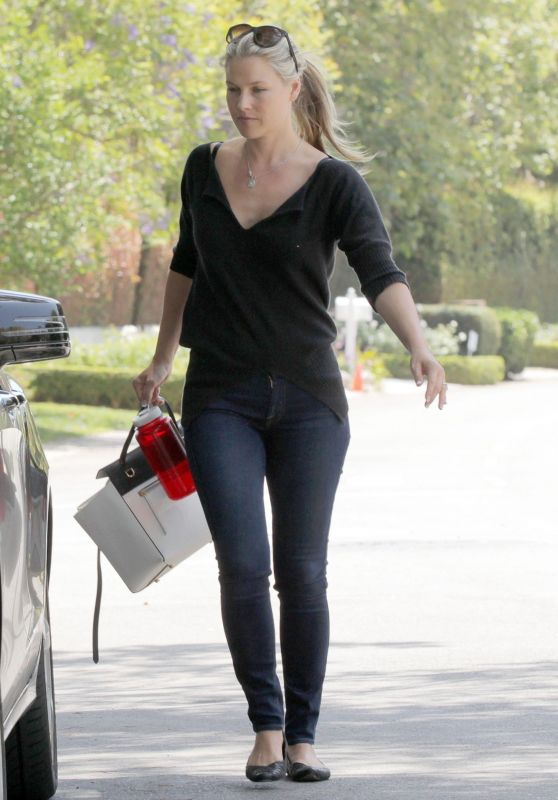 Ali Larter Booty in Jeans - Out in Brentwood, May 2015