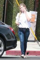 Ali Larter Booty in Jeans - Shopping in Los Angeles, May 2015