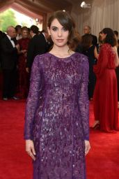 Alison Brie – Costume Institute Benefit Gala in New York City, May 2015