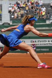 Alize Cornet – 2015 French Tennis Open at Roland Garros in Paris – 2nd Round